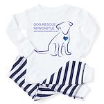 Dog Rescue Newcastle logo Toddler Pajamas