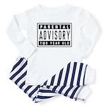 Two Year Old - Warning Label Toddler Pajamas