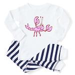 Crawfish Toddler Pajamas