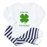 Kiss Me, I'm Lucky Toddler Pajamas