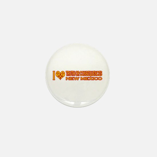 I Love Truth or Consequences, NM Mini Button