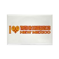 I Love Truth or Consequences, NM Rectangle Magnet