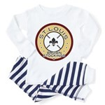 Brown Stockings Logo Toddler Pajamas