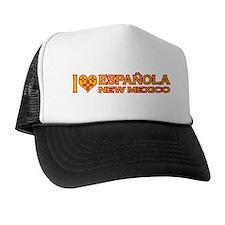 I Love Espanola, NM Trucker Hat