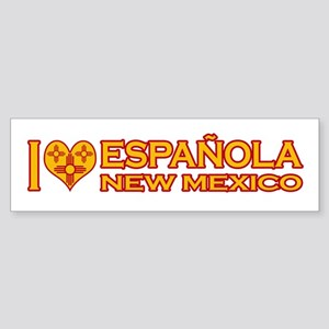 I Love Espanola, NM Bumper Sticker