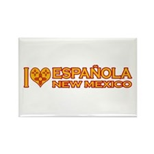 I Love Espanola, NM Rectangle Magnet