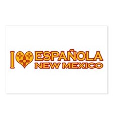 I Love Espanola, NM Postcards (Package of 8)