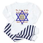 Lion Of The Tribe Of Judah Toddler Pajamas