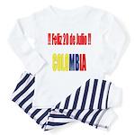20 Julio Colombian day Toddler Pajamas