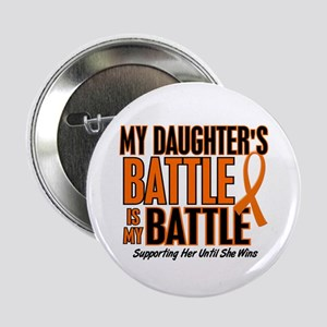 "My Battle Too (Daughter) Orange 2.25"" Button"