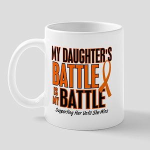My Battle Too (Daughter) Orange Mug