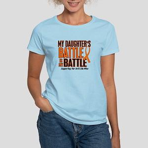 My Battle Too (Daughter) Orange Women's Light T-Sh