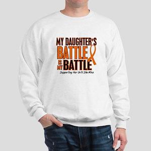 My Battle Too (Daughter) Orange Sweatshirt