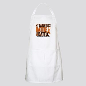 My Battle Too (Daughter) Orange BBQ Apron