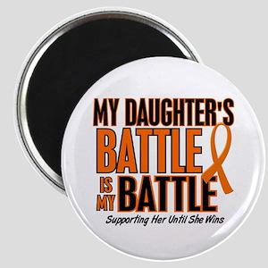 My Battle Too (Daughter) Orange Magnet