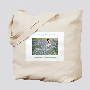 Consider the lilies...Tote Bag
