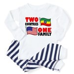 Two Countries/One Family Toddler Pajamas