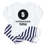 5 Fulton (Classic) Toddler Pajamas