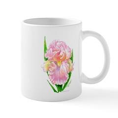 Pink Iris Mug