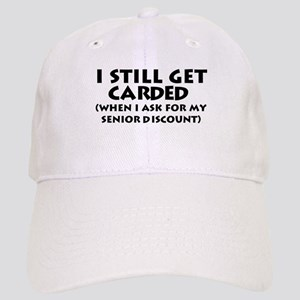 Humorous Senior Citizen Cap