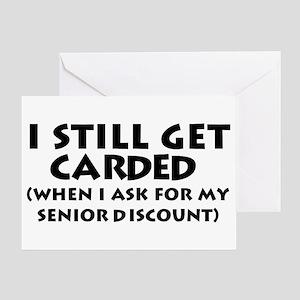 Humorous Senior Citizen Greeting Card