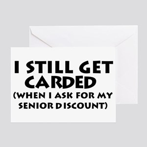Humorous Senior Citizen Greeting Card