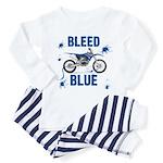 Bleed Blue Toddler Pajamas