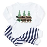 May the Forest be with you Toddler Pajamas