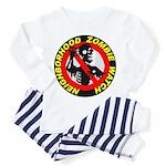 NEIGHBORHOOD ZOMBIE WATCH Toddler Pajamas