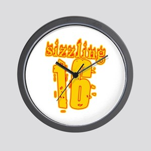 Hot 16th B-day Gifts Wall Clock