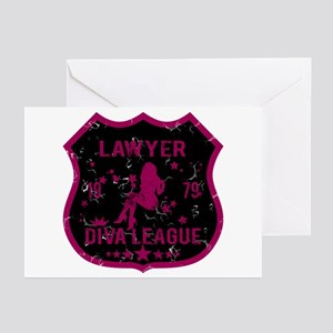 Lawyer Diva League Greeting Cards (Pk of 10)