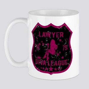 Lawyer Diva League Mug