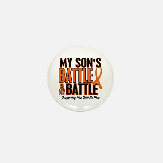 My Battle Too (Son) Orange Mini Button