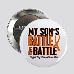 "My Battle Too (Son) Orange 2.25"" Button"