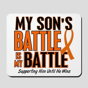 My Battle Too (Son) Orange Mousepad