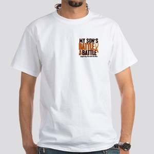 My Battle Too (Son) Orange White T-Shirt