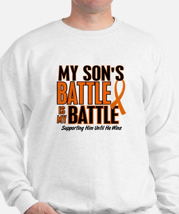 My Battle Too (Son) Orange Sweater