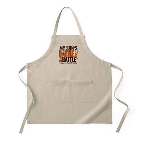 My Battle Too (Son) Orange BBQ Apron
