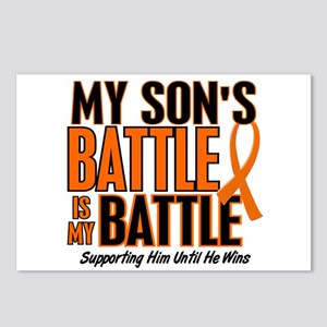 My Battle Too (Son) Orange Postcards (Package of 8