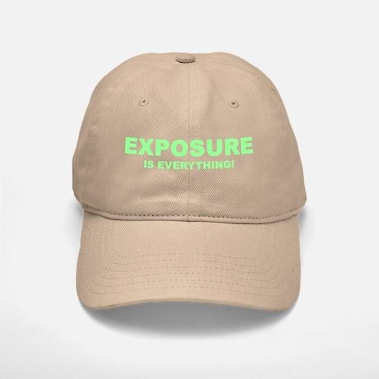 Exposure Green Baseball Baseball Cap