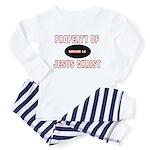 Property Design (Red) Toddler Pajamas