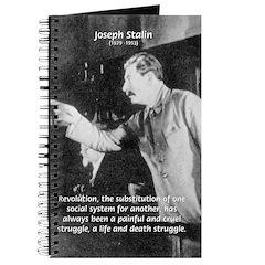 Joseph Stalin Revolution Journal