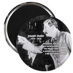 Joseph Stalin Revolution Magnet