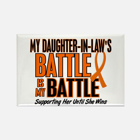 My Battle Too (Daughter-In-Law) Orange Rectangle M