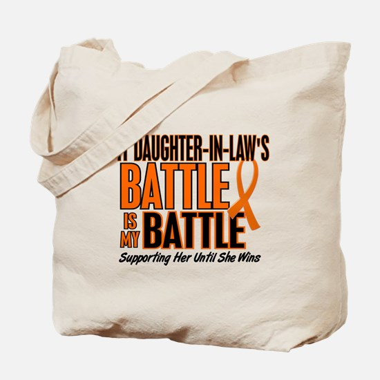 My Battle Too (Daughter-In-Law) Orange Tote Bag