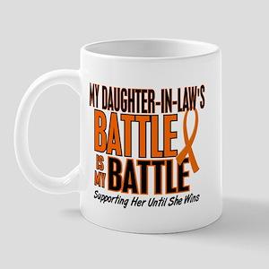 My Battle Too (Daughter-In-Law) Orange Mug