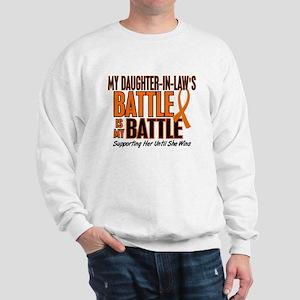 My Battle Too (Daughter-In-Law) Orange Sweatshirt
