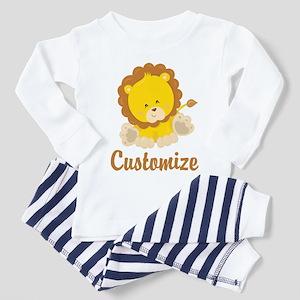 Custom Baby Lion Toddler Pajamas