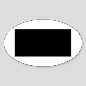 How Long Must Women Wait? Oval Sticker