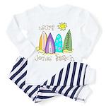 Jones Beach Surfer Toddler Pajamas
